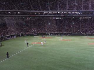 Nippon series at Tokyo Dome